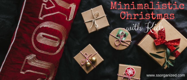 Minimalistic Christmas with Kids