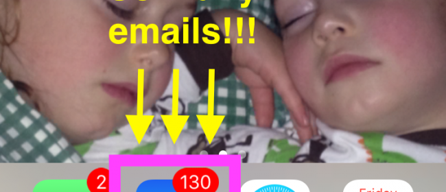 Email's a Bitch- Well…. at least something that seems untamable